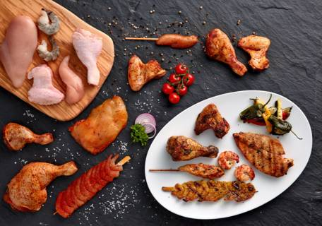Carne sicurezza a tavola