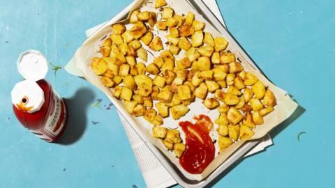 Patate croccanti al forno