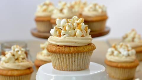 Muffin con popcorn