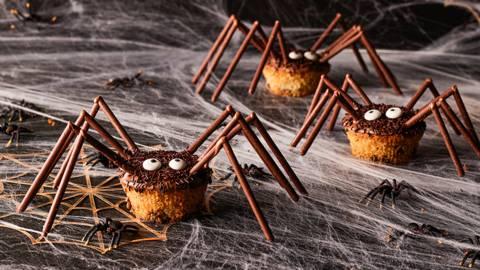 Muffin ragno di Halloween
