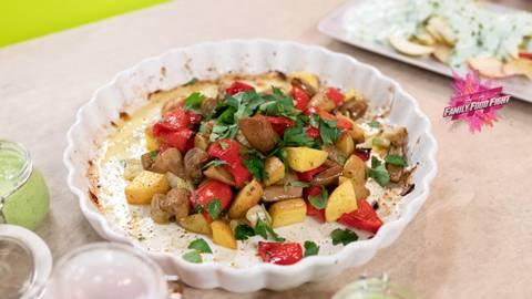 Family Food Fight: Verdure grigliate al forno