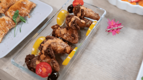 Family Food Fight: Chicken wings