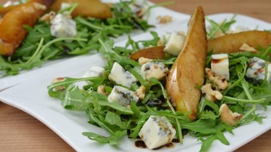 Insalata di rucola con gorgonzola