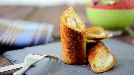 Cannelloni di pan carrè al formaggio