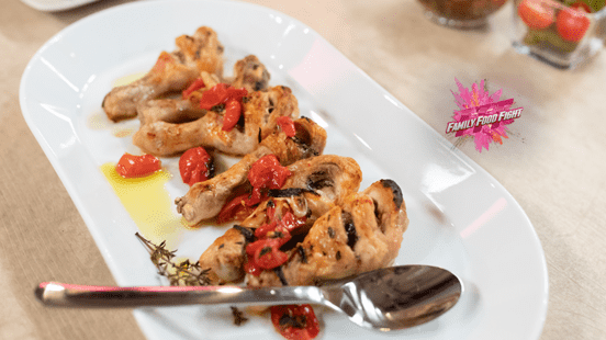 Family Food Fight: Pollo alla siciliana