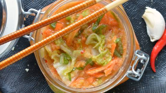 Kimchi facile & veloce