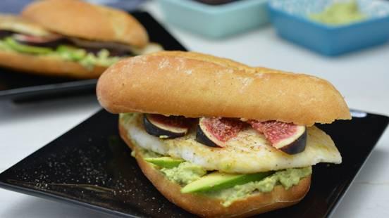 Sandwich a la platessa