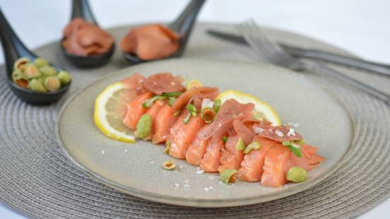 Filetto di salmone affumicato