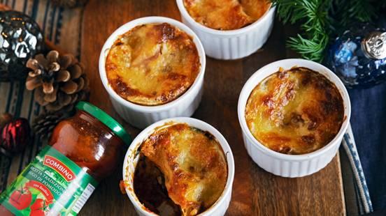 Pirottini di lasagne alle bietole con pinoli