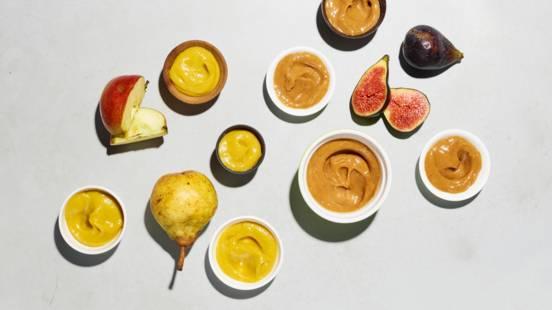 Variazione di mostarda alla frutta