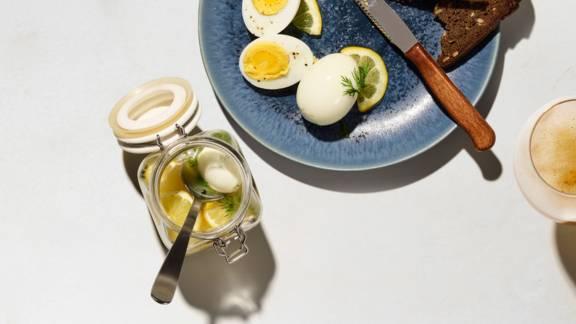 Uova sotto vetro