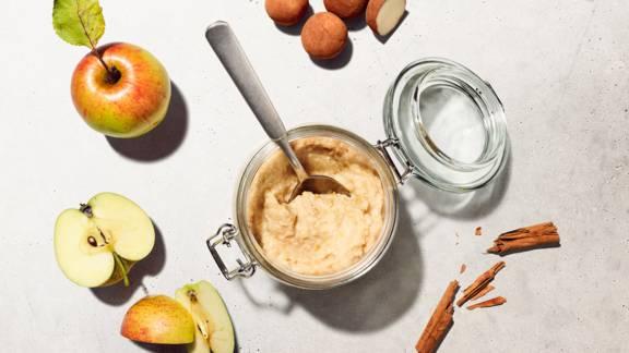 Confettura di mele al forno e marzapane