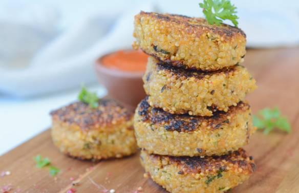 Tortini di quinoa