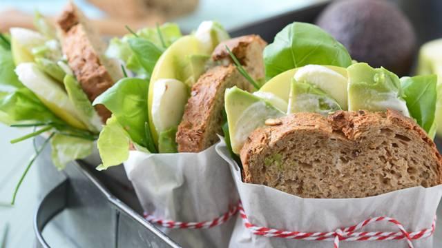 Tramezzini di pane multicereali