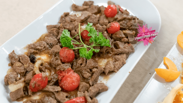 Family Food Fight: Carne di vitello svizzera all'afghana