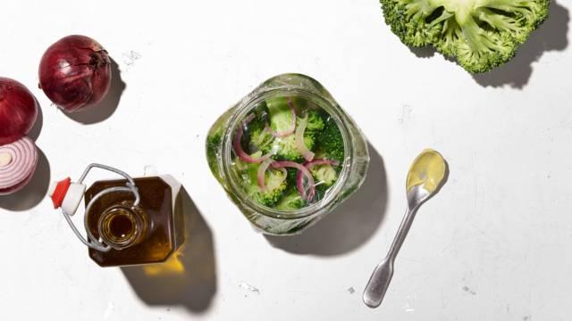 Broccoli sotto vetro