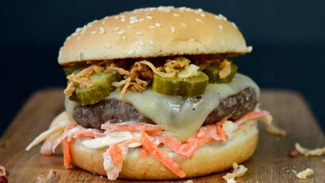 Il cheeseburger di Lidl