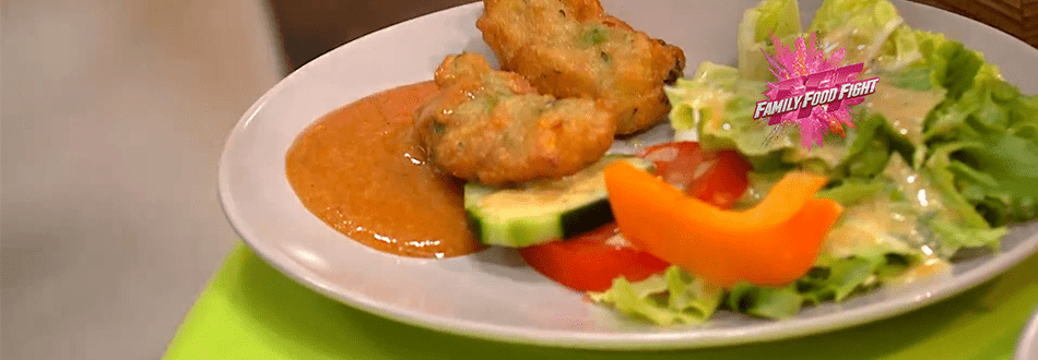 Family Food Fight: Gemüsebällchen mit Mafé