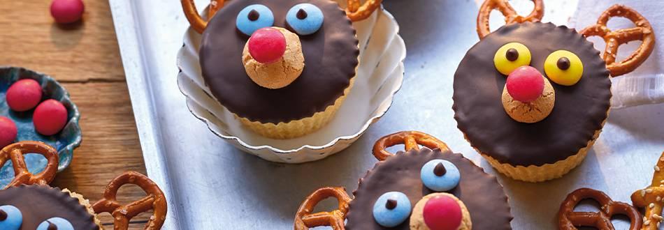Cupcake Rudolph