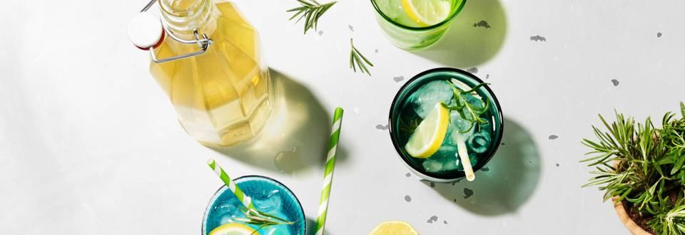 Sciroppo al limone e al rosmarino