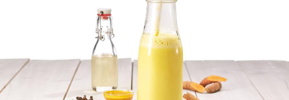 Golden milk: oro per corpo e anima