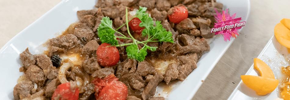 Family Food Fight: Carne di vitello svizzera all'afghana