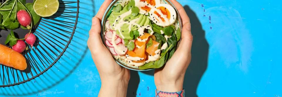Bowl vegetariana