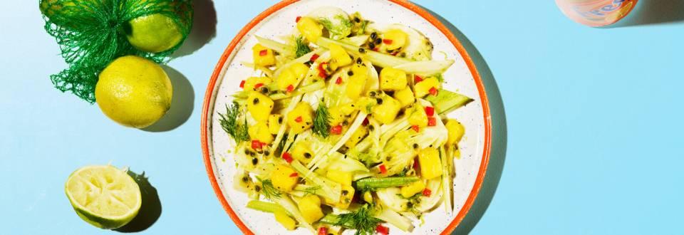 Salade de fenouil fruitée