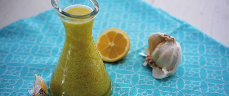 Olio al limone e aglio