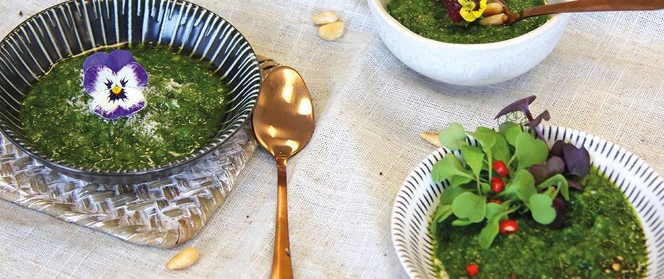 Pesto di erba cipollina