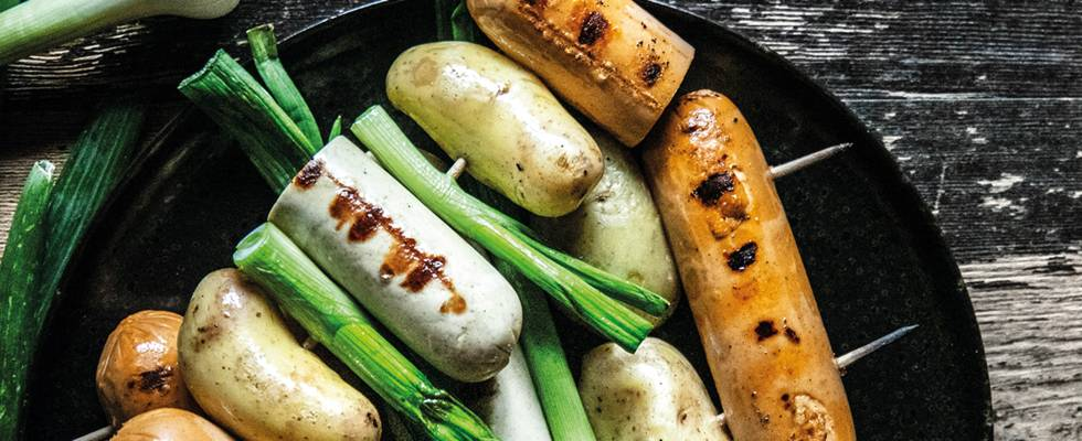 Spiedini vegani alla griglia