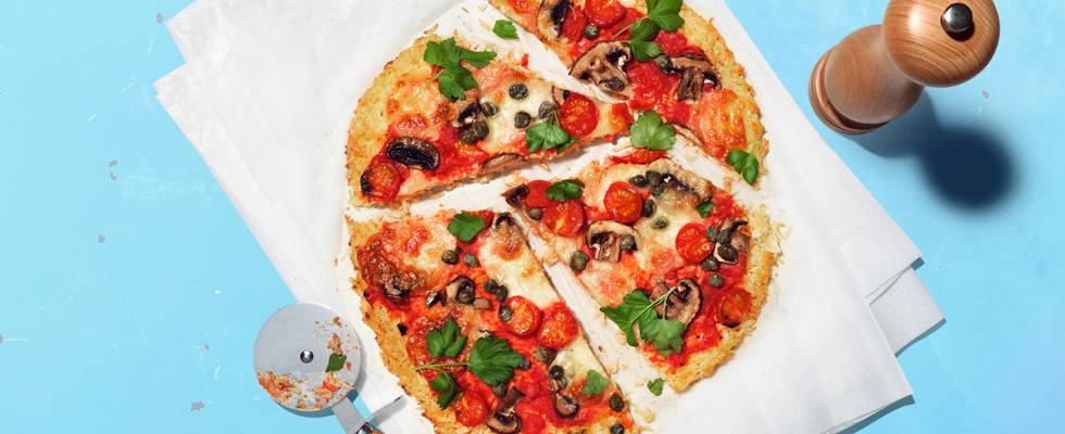 Pizza al riso al mondo