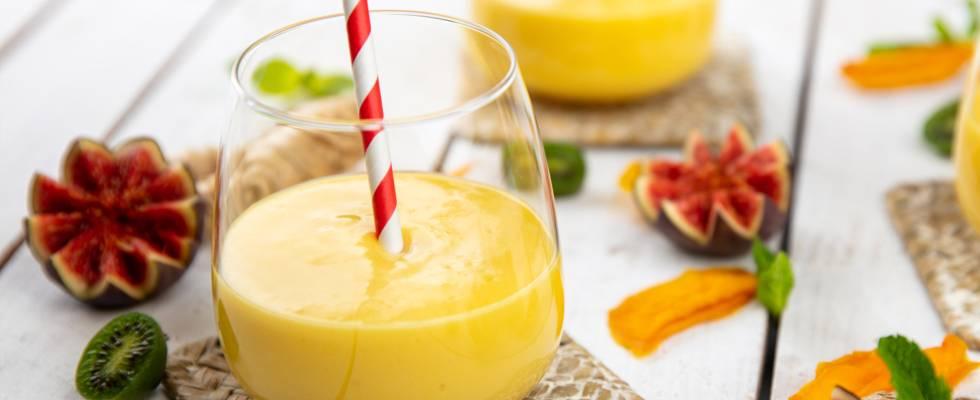 Lassi vegano al mango